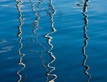 Abstracte bezinningen 2 Stock Fotografie