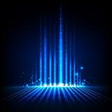 Abstracte Binaire Achtergrond Stock Afbeelding