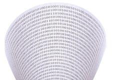 Abstracte binaire code Royalty-vrije Stock Afbeeldingen