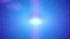 Abstracte binaire code vector illustratie