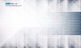 Abstracte binaire code Royalty-vrije Illustratie