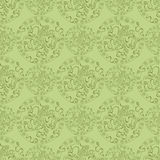 Abstracte blad gekleurde cirkels met overladen voorwerpen in hen Stock Foto