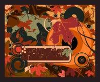 Abstracte bladeren Royalty-vrije Stock Afbeelding