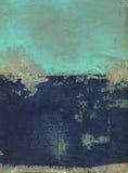 Abstracte Blauw en Turkoois vector illustratie