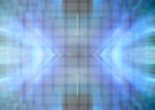 Abstracte blauwachtige achtergrond vector illustratie