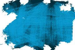 Abstracte blauwe aardige achtergrond stock illustratie