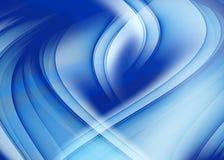 Abstracte blauwe achtergrond Stock Afbeelding