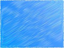 Abstracte blauwe achtergrond Stock Foto