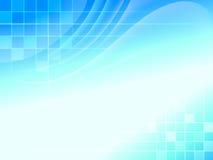 Abstracte Blauwe achtergrond royalty-vrije illustratie