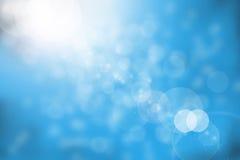 Abstracte blauwe achtergrond. Stock Illustratie