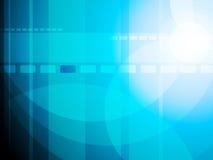 Abstracte blauwe achtergrond Stock Foto's
