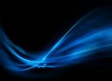 Abstracte Blauwe Achtergrond stock afbeeldingen