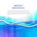 Abstracte blauwe achtergrond, Stock Foto