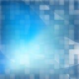 Abstracte blauwe achtergrond.  + EPS10 Royalty-vrije Stock Afbeelding