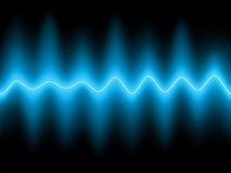 Abstracte blauwe achtergrond. EPS 8 Stock Afbeelding
