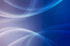 Abstracte blauwe achtergrond met het snijden van lijnen, behang Stock Afbeelding