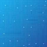 Abstracte blauwe achtergrond. Vector. Royalty-vrije Stock Foto's