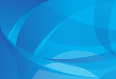 Abstracte blauwe achtergronden stock illustratie