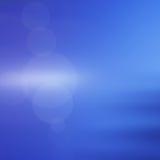 Abstracte blauwe bokeh als achtergrond Stock Afbeelding