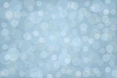 Abstracte blauwe bokehachtergrond Vector illustratie Royalty-vrije Stock Afbeeldingen