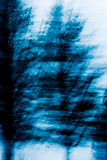 Abstracte blauwe boomachtergrond Royalty-vrije Stock Afbeelding