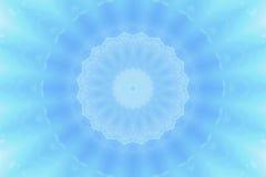 Abstracte blauwe cirkelachtergrond Royalty-vrije Stock Fotografie