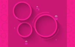 Abstracte blauwe cirkels Royalty-vrije Stock Fotografie