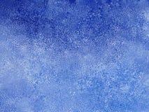 Abstracte blauwe de winterachtergrond Stock Foto's