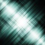 Abstracte blauwe die fractal van lijnen wordt gecreeerd Royalty-vrije Illustratie