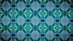 Abstracte blauwe en groene het patroonachtergrond van de kleuren exclusieve kleur Royalty-vrije Stock Foto