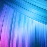 Abstracte blauwe en roze buigende lijn abstracte achtergrond Stock Foto's