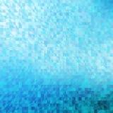 Abstracte, blauwe geometrische achtergrond. royalty-vrije illustratie