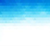 Abstracte blauwe geometrische technologieachtergrond royalty-vrije illustratie