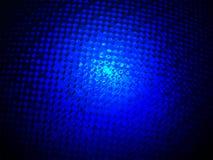 Abstracte blauwe glasdiversiteit, machtsverlichting, Stock Foto's