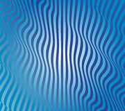 Abstracte Blauwe Golfvector Royalty-vrije Stock Afbeelding