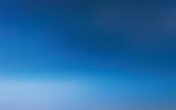 Abstracte blauwe hemelachtergrond Stock Afbeelding