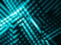 Abstracte blauwe high-tech 3d achtergrond Stock Afbeeldingen