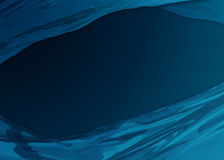 Abstracte Blauwe honing als achtergrond Royalty-vrije Stock Foto