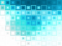 Abstracte Blauwe ijsachtergrond Royalty-vrije Stock Foto's