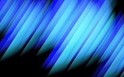 Abstracte blauwe lijnenachtergrond. Stock Afbeelding