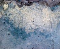 Abstracte blauwe muur grunge achtergrond Stock Foto's