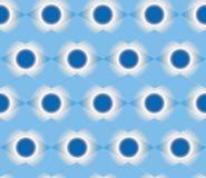 Abstracte blauwe naadloze achtergrond Vector Illustratie