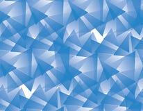 Abstracte Blauwe Naadloze Vectorachtergrond Vector Illustratie