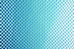 Abstracte blauwe netto technologie als achtergrond Stock Afbeeldingen