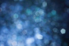 Abstracte blauwe onscherpe achtergrond stock foto's