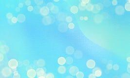 Abstracte blauwe overzeese en hemelachtergrond met onduidelijk beeld bokeh lichteffect royalty-vrije illustratie