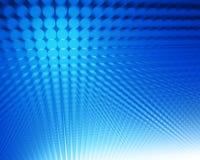 Abstracte blauwe punten stock illustratie