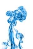 Abstracte blauwe rook Stock Foto