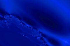Abstracte blauwe ruimteachtergrond Royalty-vrije Stock Afbeeldingen