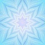 Abstracte blauwe ster royalty-vrije illustratie